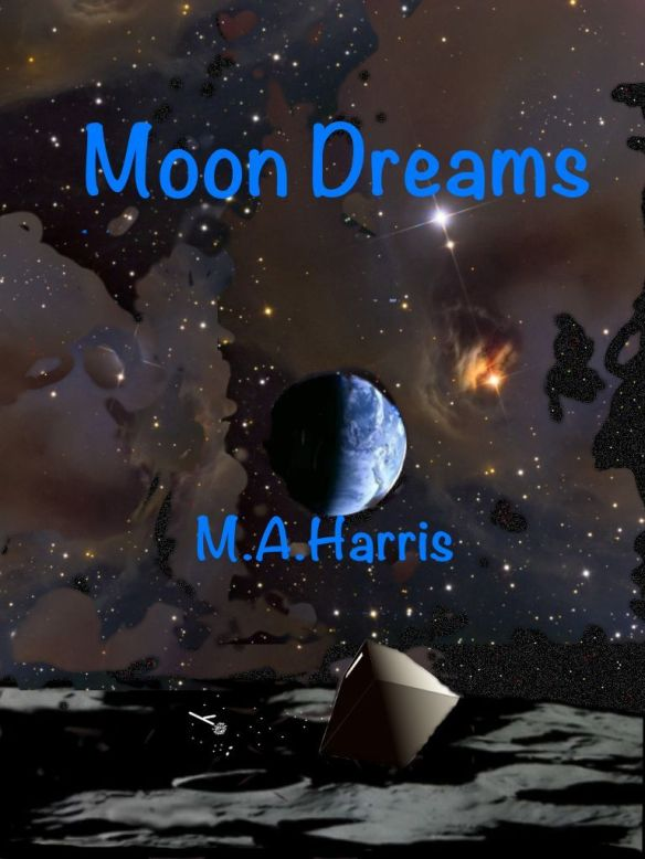 Cover for Moon Dreams, created by Mark Harris