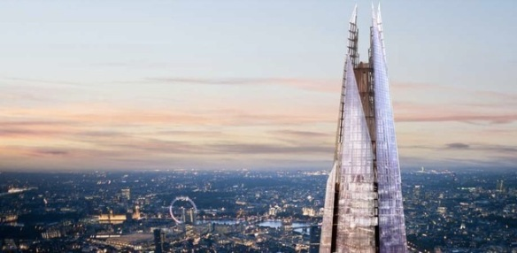 CAD eye candy of London skyline