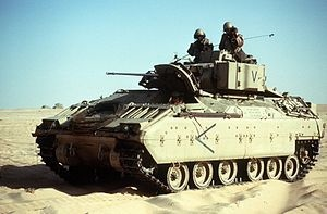 Bradley in the Gulf War
